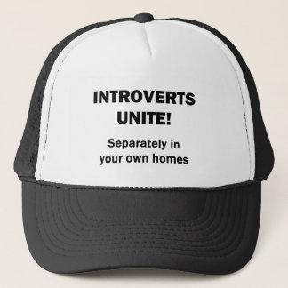 Introverts Unite! Trucker Hat