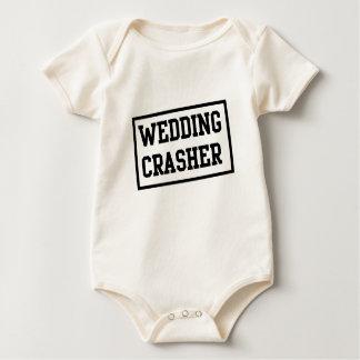 Intruso del boda mamelucos de bebé