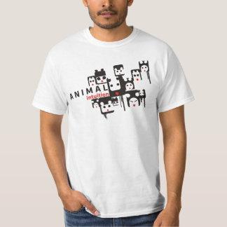 Intuición animal camisas