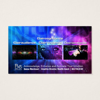 Intuition - 21 Day Perspective Challenge Business Card