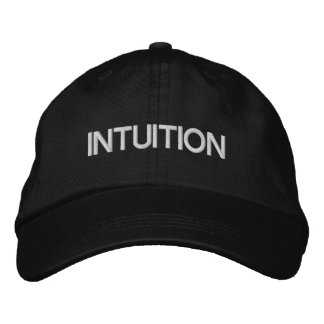 INTUITION cap by Jessi Jordan Embroidered Baseball Caps