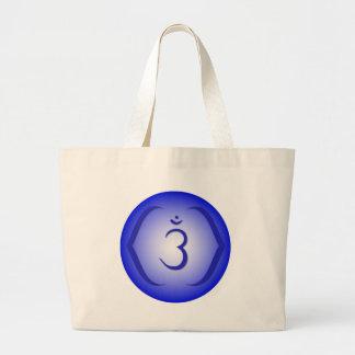 Intuition Chakra - Ajna Jumbo Tote Bag
