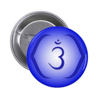 Intuition Chakra - Ajna Pinback Button
