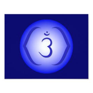 Intuition Chakra - Ajna 4.25x5.5 Paper Invitation Card