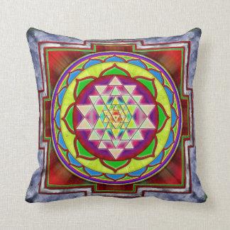 Intuition Sri Yantra I Pillow