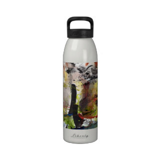 Intuitive Abstract Artsy Liberty Bottle Reusable Water Bottles