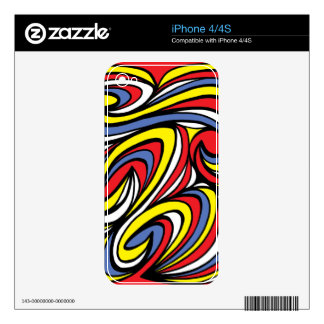 Intuitive Classical Sparkling Approve iPhone 4 Skins