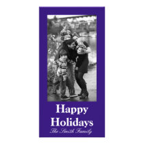 Intuitively Idealistic Blue Color Customizable Card