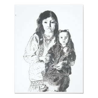 Inuit family card