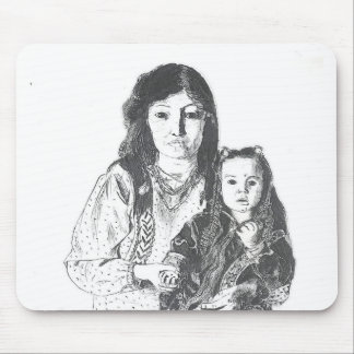 Inuit family mouse pads