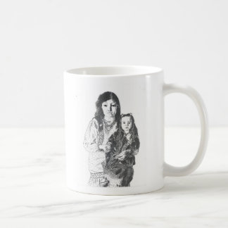 Inuit family mug