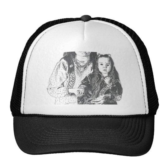 Inuit family trucker hat