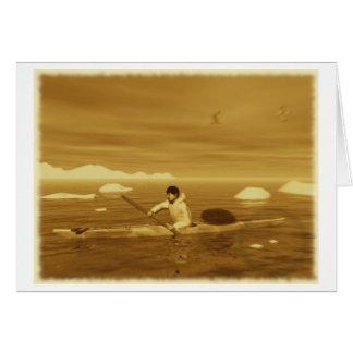 Inuit Kayak Card