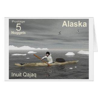 Inuit Kayak Greeting Cards