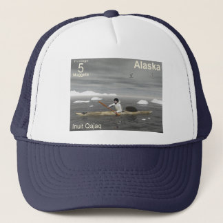 Inuit Kayak Trucker Hat