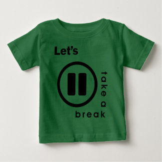 INUKREASI PLAYER ICONS - LETS TAKE A BREAK V.3 BABY T-Shirt