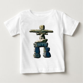 Inukshuk Native American Spirit Stones Baby T-Shirt