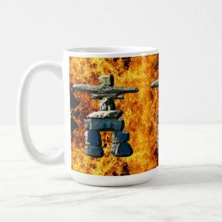 Inukshuk Native American Spirit Stones Coffee Mug