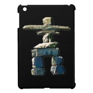 Inukshuk Native American Spirit Stones iPad Mini Covers