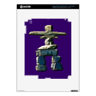 Inukshuk Native American Spirit Stones Skin For iPad 3