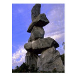 Inukshuk, Northwest Territories, Canada Postcard