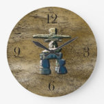 Inukshuk & Rock Texture Clock