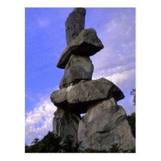 Inukshuk, territorios del noroeste, Canadá Tarjetas Postales