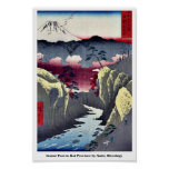 Inume Pass in Kai Province by Ando, Hiroshige Print