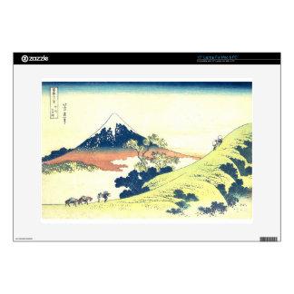 "Inume Pass in Kai Province - Katsushika Hokusai 15"" Laptop Skins"
