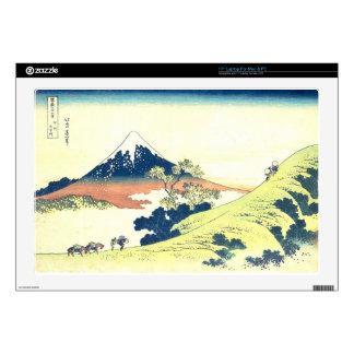 Inume Pass in Kai Province - Katsushika Hokusai Decal For Laptop