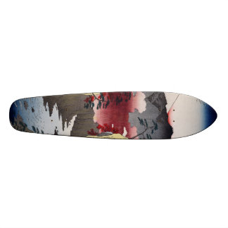 Inume Pass in Kai Province. Skateboard
