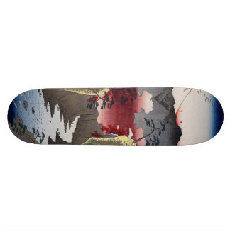 Inume Pass in Kai Province. Skateboard Deck