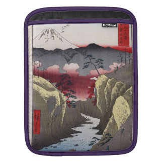 Inume Pass in Kai Province. Sleeve For iPads