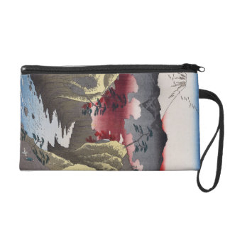 Inume Pass in Kai Province. Wristlet Purse