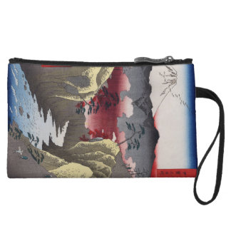Inume Pass in Kai Province. Wristlet Wallet
