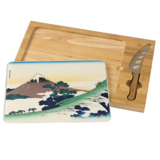 Inume pass in the Kai province Rectangular Cheese Board