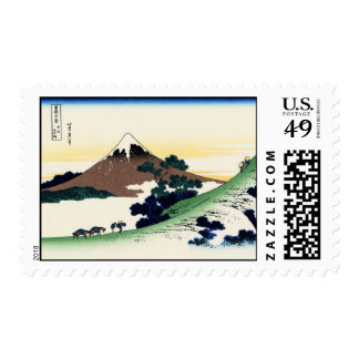 Inume pass in the Kai province Postage