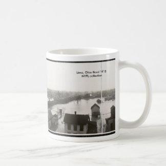 Inundación 1913 inundación 1913NYPL de Lima Ohio Taza De Café