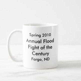 Inundación anual de Fargo Taza