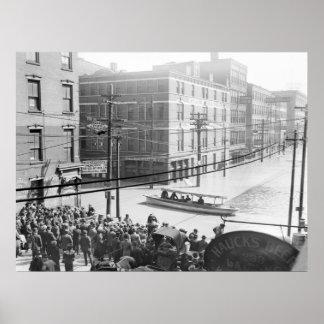 Inundación de Cincinnati: 1910 Póster