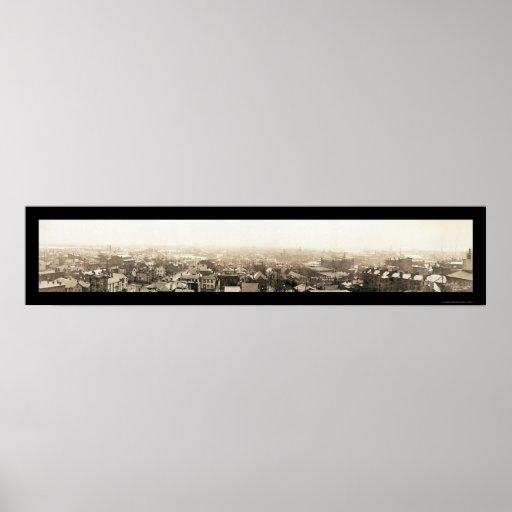 Inundación de Columbus, foto 1913 del OH Impresiones