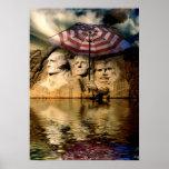 Inundación de Rushmore Impresiones