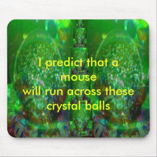 Inundado en verde cósmico tapetes de ratón