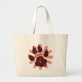 Inunu's Pawprint Bag