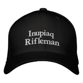 Inupiaq, Rifleman Embroidered Baseball Cap
