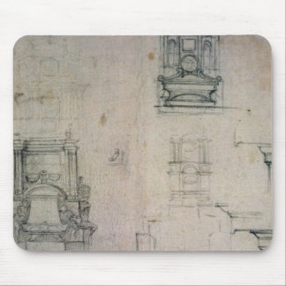Inv. 1859 6-25-545. R.  Designs for tombs Mouse Pad