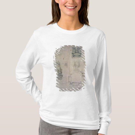 Inv. 1859 6-25-545. R.  Designs for tombs T-Shirt