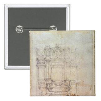 Inv. L859 6-25-823. R. Diseño para una tumba Pin