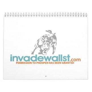 Invada el calendario de Wall Street