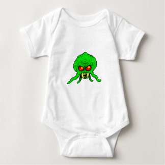 Invader From Space Baby Bodysuit